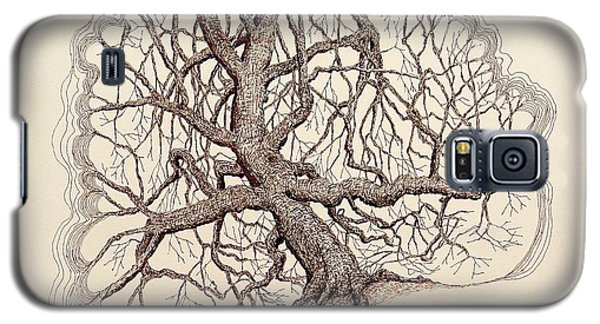 Tree In Winter II Galaxy S5 Case