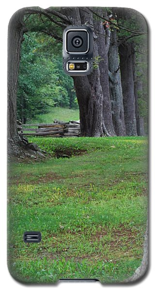 Galaxy S5 Case featuring the photograph Tree Line by Eric Liller
