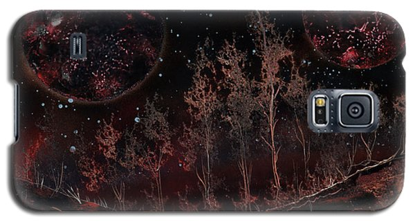 Tree Line On Fettorine Galaxy S5 Case
