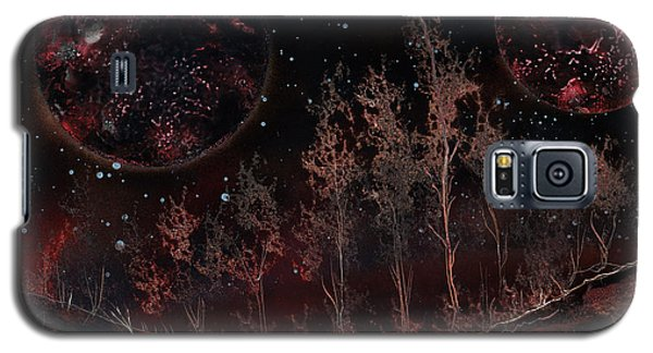 Tree Line On Fettorine Galaxy S5 Case