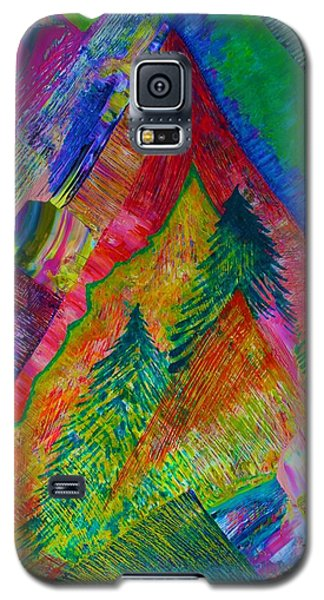 A Tree Motif Galaxy S5 Case