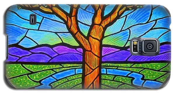 Tree Of Grace - Spring Galaxy S5 Case