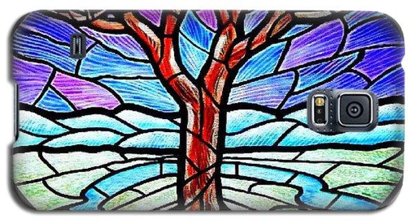Tree Of Grace - Winter Galaxy S5 Case