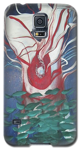 Galaxy S5 Case featuring the painting Tree Of Life by Carrie Maurer