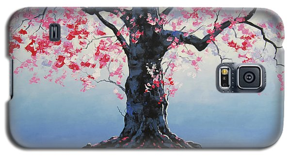 Salmon Galaxy S5 Case - Tree Of Life by Graham Gercken