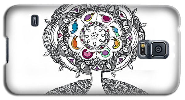Tree Of Life - Ink Drawing Galaxy S5 Case