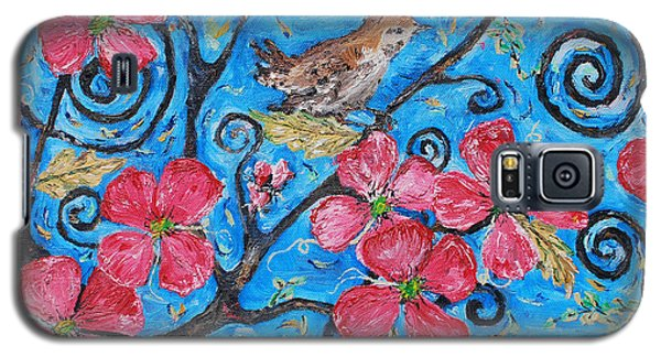 Galaxy S5 Case featuring the painting Tree Of Life by Reina Resto
