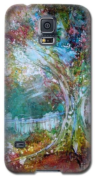 Tree On Fire Galaxy S5 Case
