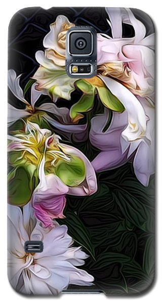 Tree Peony Galaxy S5 Case by Alexis Rotella