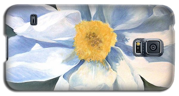 Galaxy S5 Case featuring the painting Tree Peony by Laurie Rohner