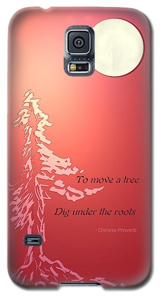 Tree Proverb Galaxy S5 Case