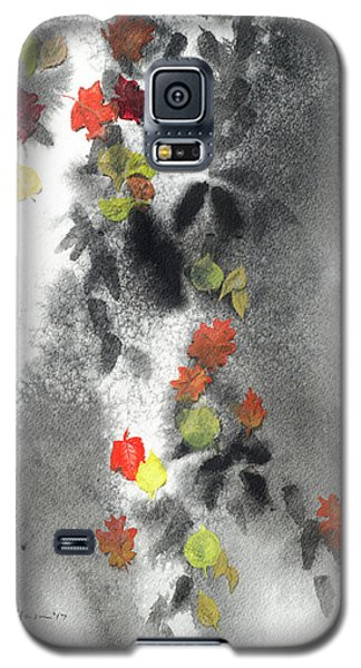 Tree Shadows And Fall Leaves Galaxy S5 Case