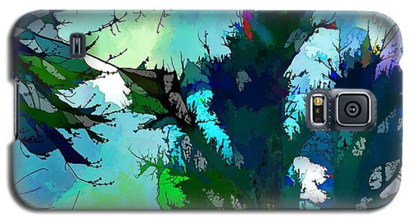 Tree Spirit Abstract Digital Painting Galaxy S5 Case