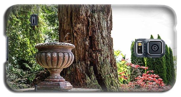 Tree Stump And Concrete Planter Galaxy S5 Case