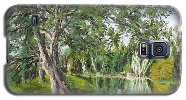 Tree Tops Park Galaxy S5 Case by Lisa Boyd