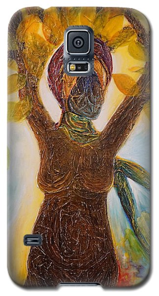 Tree Woman Galaxy S5 Case by Theresa Marie Johnson
