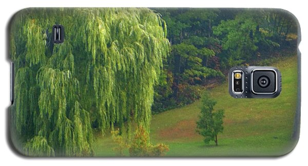 Trees Along Hill Galaxy S5 Case