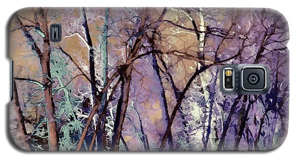 Trees Are Poems That The Earth Writes Upon The Sky Galaxy S5 Case