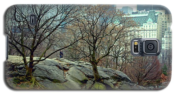 Trees In Rock Galaxy S5 Case by Sandy Moulder