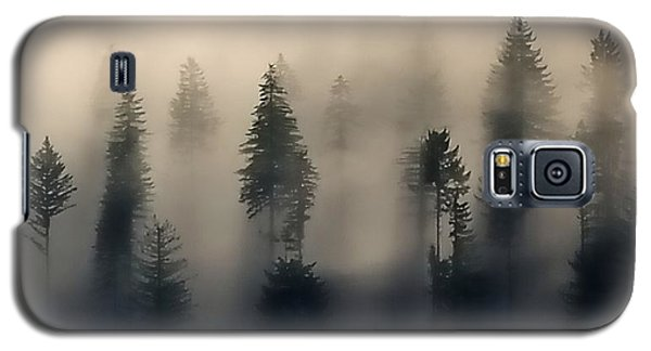 Trees In The Fog Galaxy S5 Case