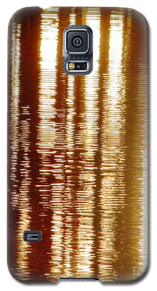 Trees On Rippled Water Galaxy S5 Case by Melissa Stoudt