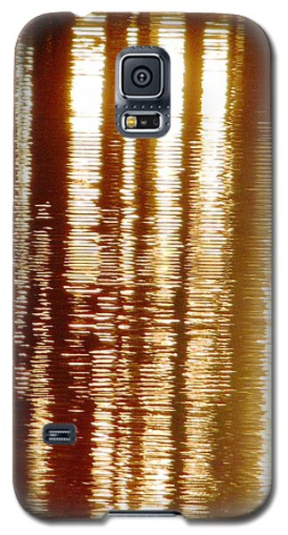 Trees On Rippled Water Galaxy S5 Case