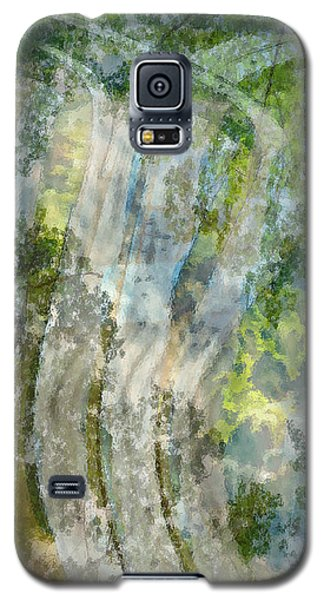 Trees Over Highway Galaxy S5 Case