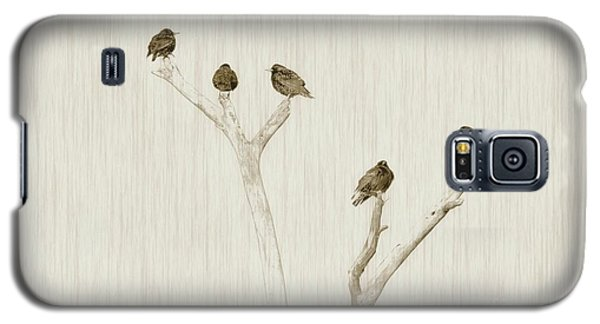 Treetop Starlings Galaxy S5 Case