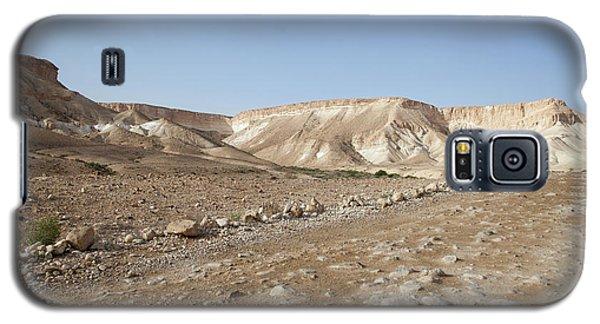 Trekker Alone On The Wild Way Galaxy S5 Case by Yoel Koskas