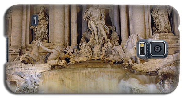 Trevi Fountain At Night Galaxy S5 Case