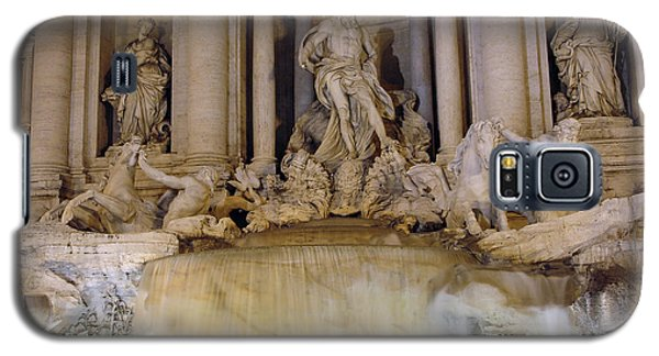 Trevi Fountain At Night Galaxy S5 Case