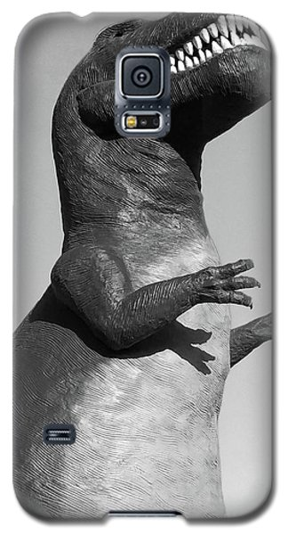 T-rex Black And White Galaxy S5 Case