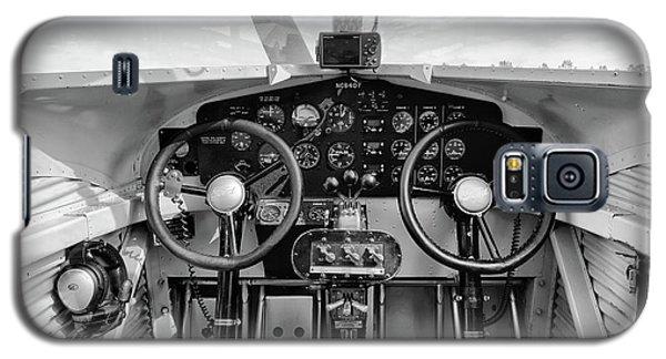 Tri-motor Cockpit - 2017 Christopher Buff, Www.aviationbuff.com Galaxy S5 Case