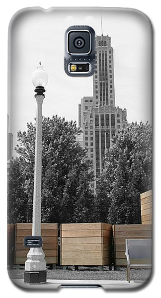 Galaxy S5 Case featuring the photograph Tri Towers by Dylan Punke
