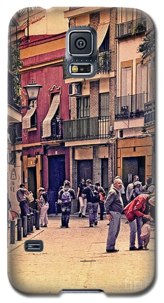 Galaxy S5 Case featuring the photograph Triana On A Sunday Afternoon 2 by Mary Machare