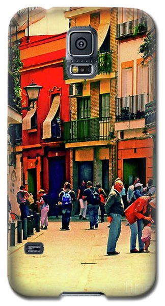 Galaxy S5 Case featuring the photograph Triana On A Sunday Afternoon 3 by Mary Machare