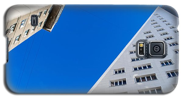 Galaxy S5 Case featuring the photograph Triangle Modern Building by John Williams
