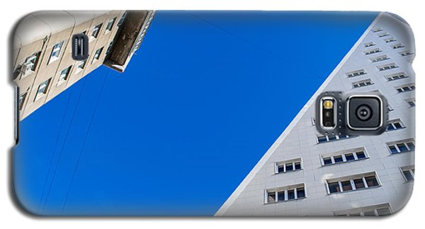Triangle Modern Building Galaxy S5 Case