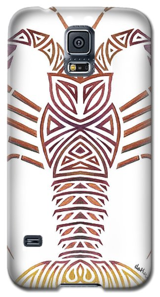 Tribal Caribbean Lobster Galaxy S5 Case