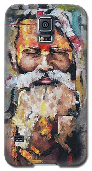 Tribal Chief Sadhu Galaxy S5 Case by Richard Day