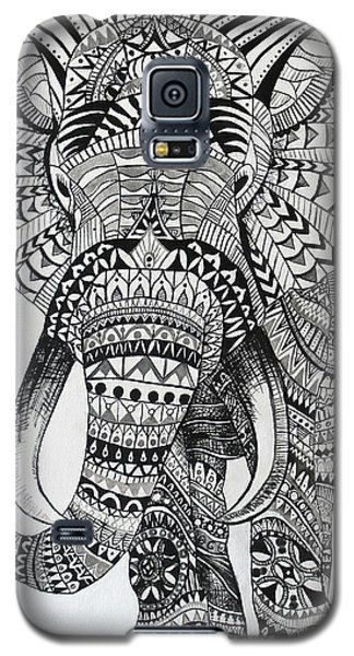 Tribal Elephant Galaxy S5 Case by Ashley Price