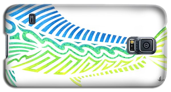 Tribal Mahi Mahi Galaxy S5 Case