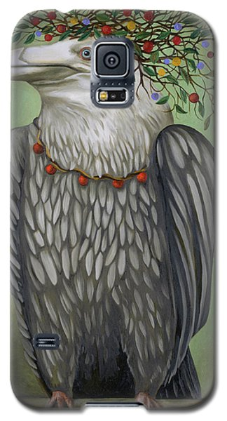 Galaxy S5 Case featuring the painting Tribal Nature by Leah Saulnier The Painting Maniac