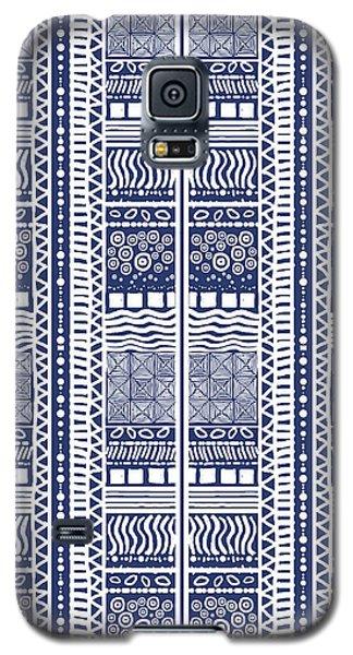 Tribal Sampler Indigo Galaxy S5 Case