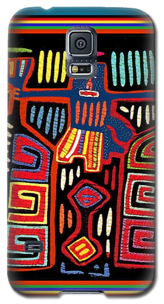 Tribal Woman Fanning Stove Galaxy S5 Case