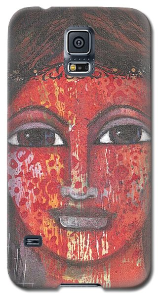 Tribal Woman Galaxy S5 Case