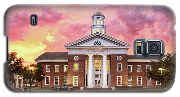 Trible Library Under A Crayola Sky Christopher Newport University  Galaxy S5 Case