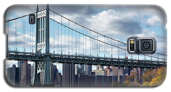 Triboro Bridge In Autumn Galaxy S5 Case