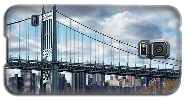 Triboro Bridge In Autumn Galaxy S5 Case