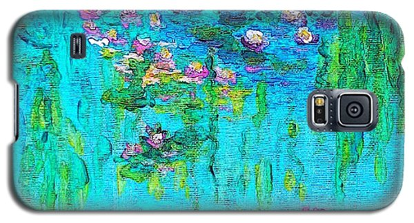 Tribute To Monet Galaxy S5 Case by Holly Martinson